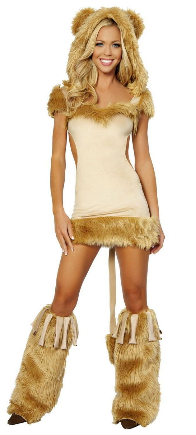 Sexy Courageous Lioness Wizard of Oz Sexy Cowardly Lion Costume ...