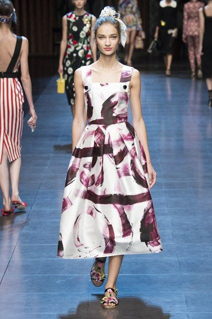 Dolce & Gabbana Spring/Summer 2016 Ready-To-Wear Milan Fashion Week