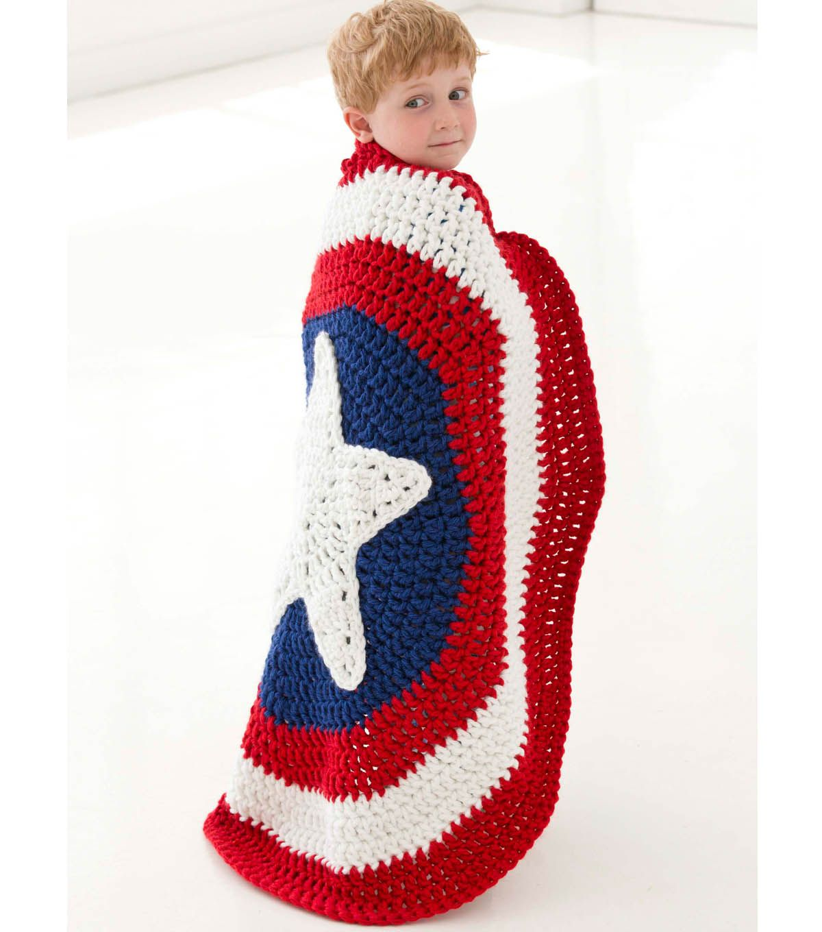 95f55c31014 Little Super Hero Blanket - Free pattern