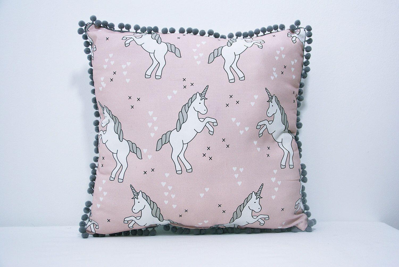 Beautiful unicorn pillow nursery pillow baby pillow toddler