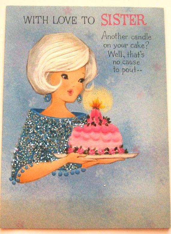 Hallmark Vintage Birthday Card