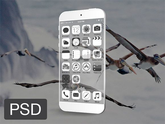 Download Transparent Iphone Mockup Psd Freebiesbug Iphone Mockup Psd Iphone Mockup Mockup Free Psd