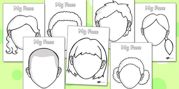 Blank Face Templates Blank Faces Templates  Face Features Eye Template Mouth  Masks .