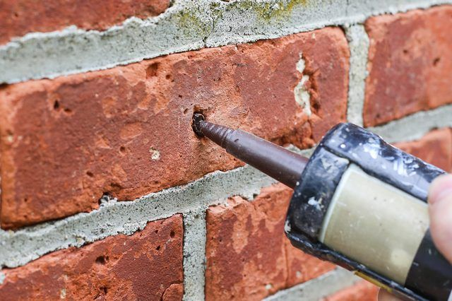 How To Patch Holes In A Brick Wall Hunker Brick Wall Patch Hole Brick