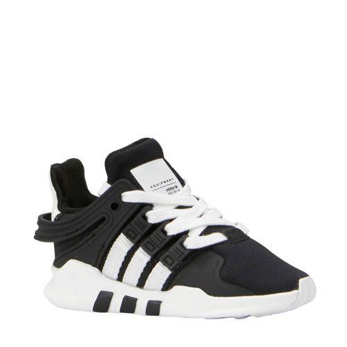 adidas originals EQT Support ADV sneakers zwart | wehkamp