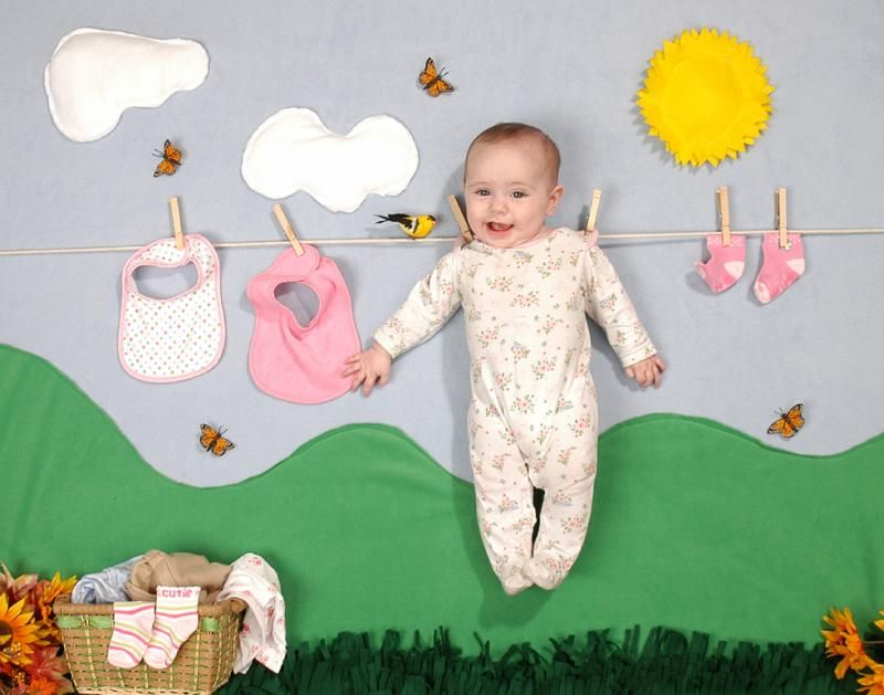 Ideas For A Baby Photoshoot