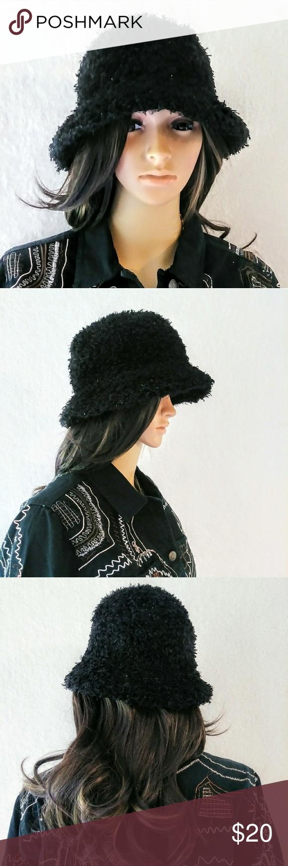 I just added this listing on Poshmark  Cejon Black Shaggy Sparkly Bucket Hat.   shopmycloset  poshmark  fashion  shopping  style  forsale  Cejon   Accessories 07d822f25da