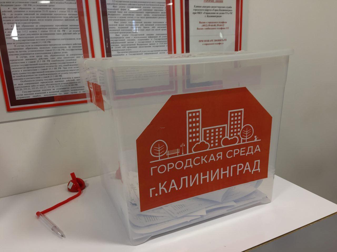 Вот такой простой ящик для голосования