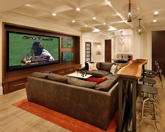 Man Cave Cabin Ideas : 15 interesting media rooms and theaters with bars men cave