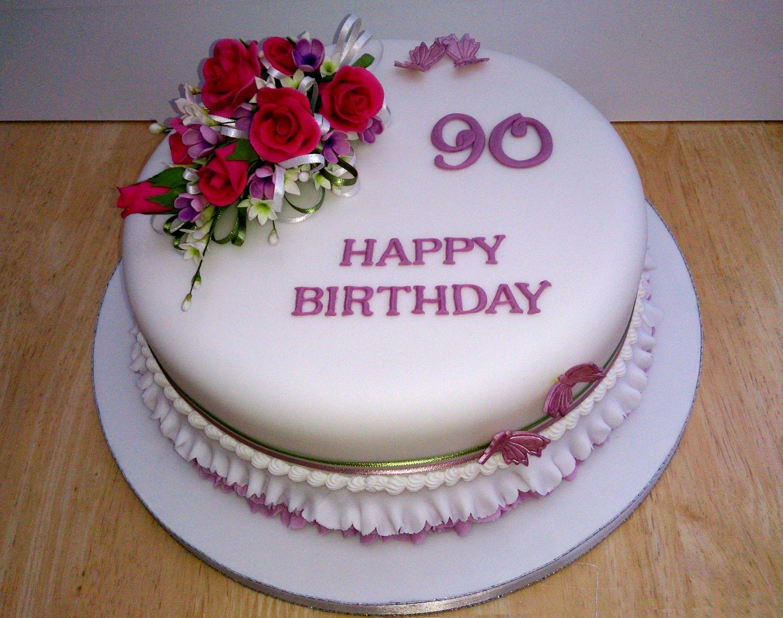 20+ 90th birthday cake designs trends