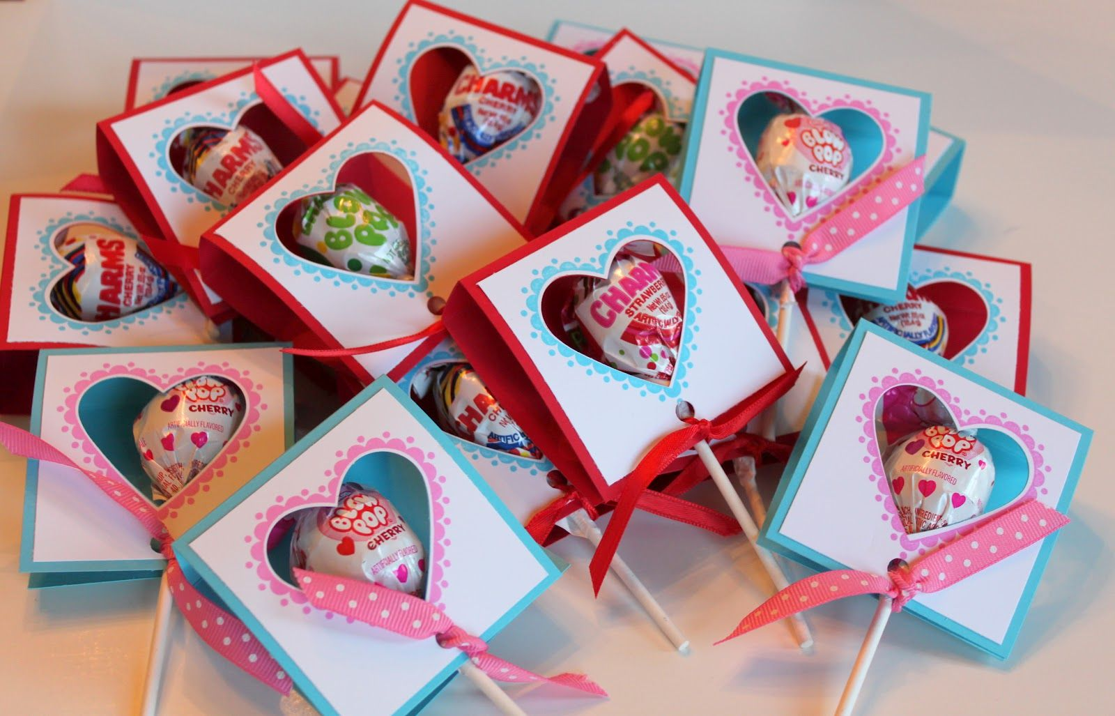 valentine day holder craft