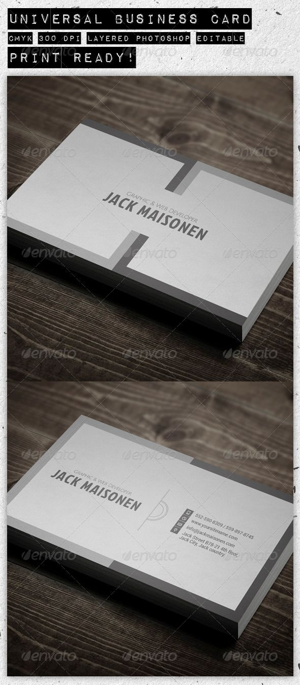 Universal business card business cards business and fonts universal business card graphicriver universal business card fully editable cmyk 300 dpi 2 psd files back and front print ready 35 x colourmoves