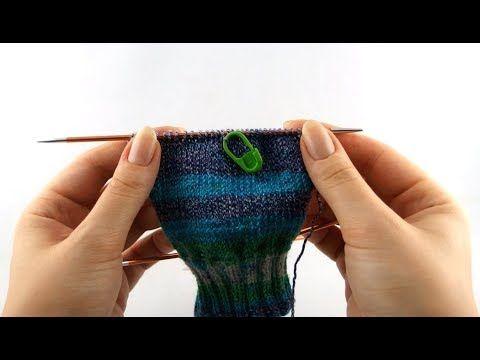 Photo of Wie stricke ich Sneaker Socken #2 Fersensteg