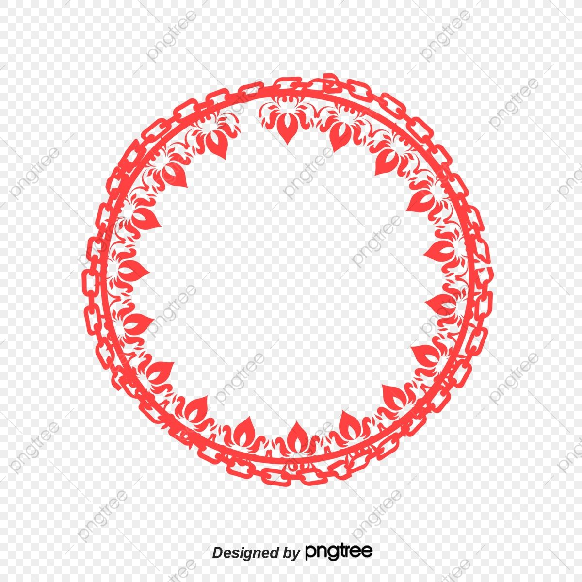 Chinese Red Chinese Circular Border Png Picture China Red Round Frame Png Transparent Clipart Image And Psd File For Free Download Clip Art Png Pictures