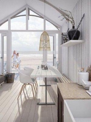 Slapen op het strand Zuid Holland & Zeeland #strandhuis