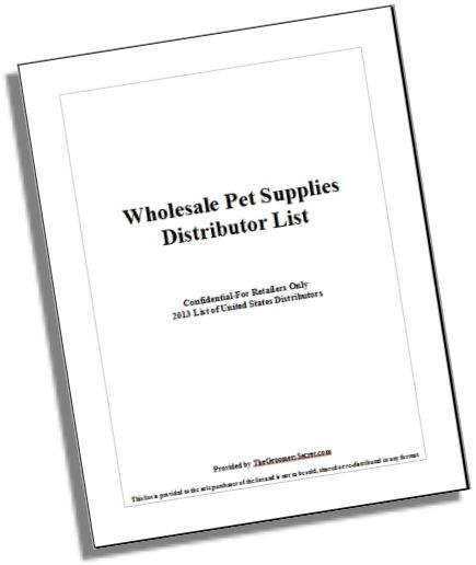 Wholesale Pet Supply Distributor List Dog Grooming Business