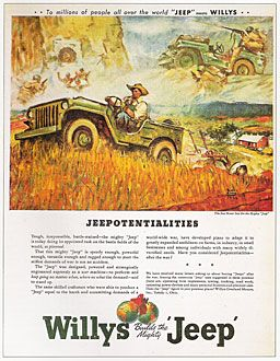 Who Built The First Jeep Willys Jeep Jeep Willys