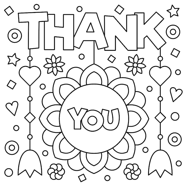 48 Free Printable Thank You Cards Stylish High Quality Designs Printable Thank You Cards Coloring Pages Free Coloring Pages
