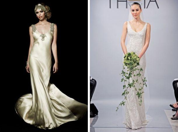 Wedding Dresses For Column Shaped Brides