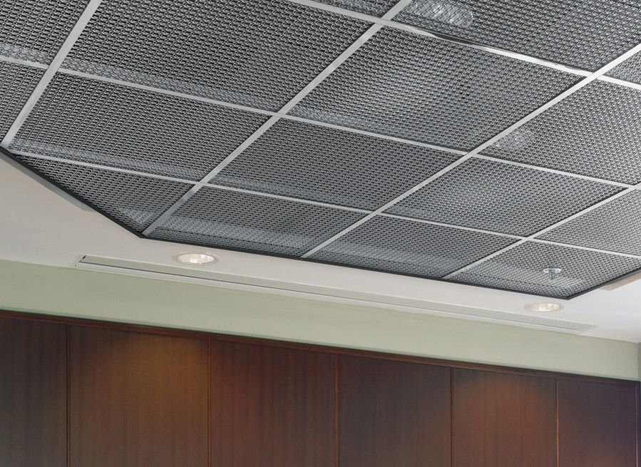 All Mesh Metal Ceilings Products Are Designed For Simple