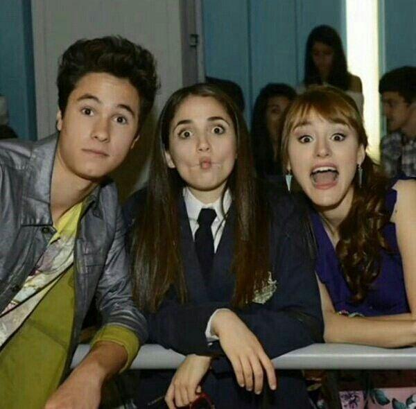 Simón, Nina e Jazmín