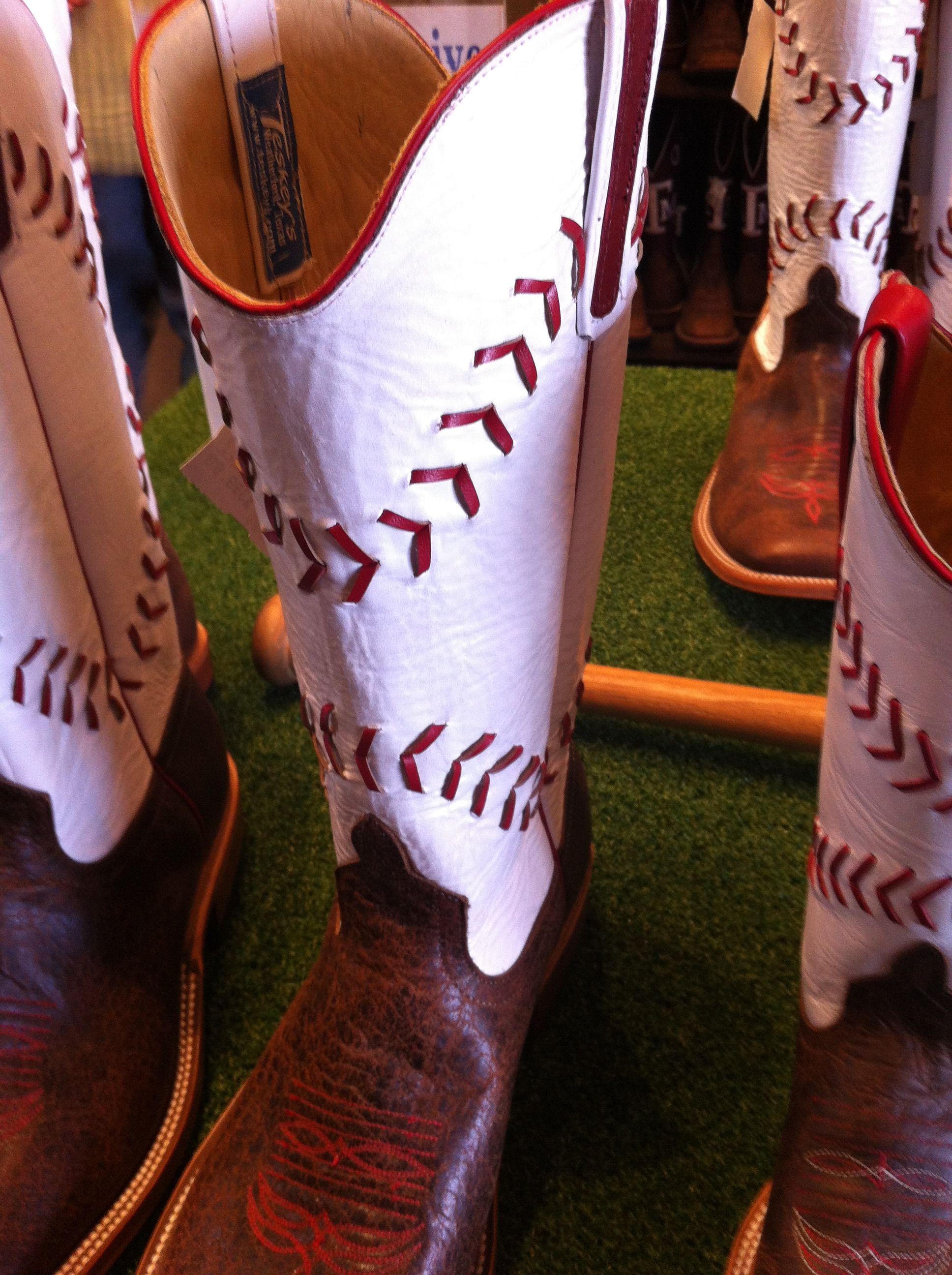 aae619c6854 Baseball Top Cowboy Boots! I want a pair so bad! | Sports | Baseball ...