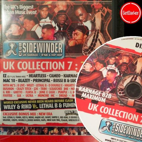 Roll Deep [Maximum b2b Karnage] Wiley Doctor JME Trim Magna  more - Sidewinder 2005 by GetDarker