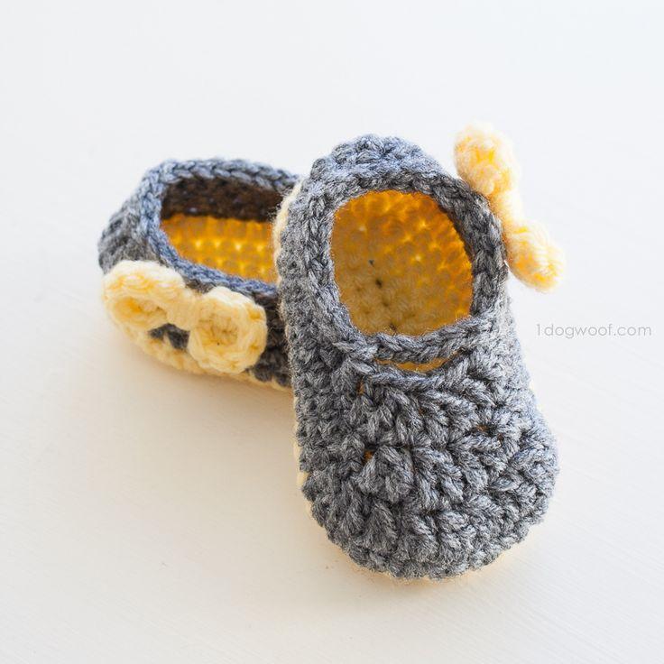 Piper Jane Baby Shoes Crochet Pattern | Zapatitos crochet, Zapatos y ...