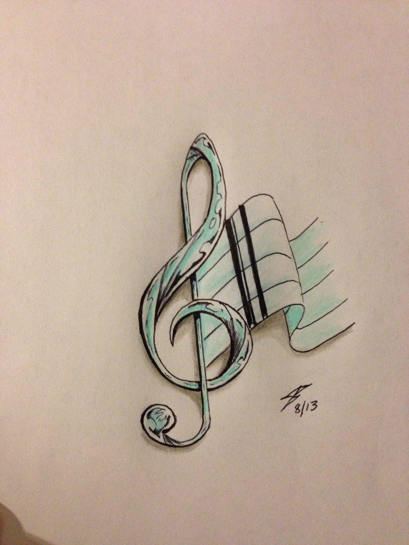 Music tattoo designs tattoo ideas pictures tattoo ideas pictures - Music Note Tattoo Design By Coyote117 Deviantart Com On Deviantart