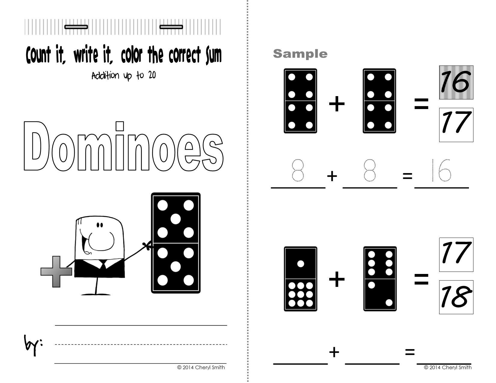 Mini Math Books Addition And Subtraction