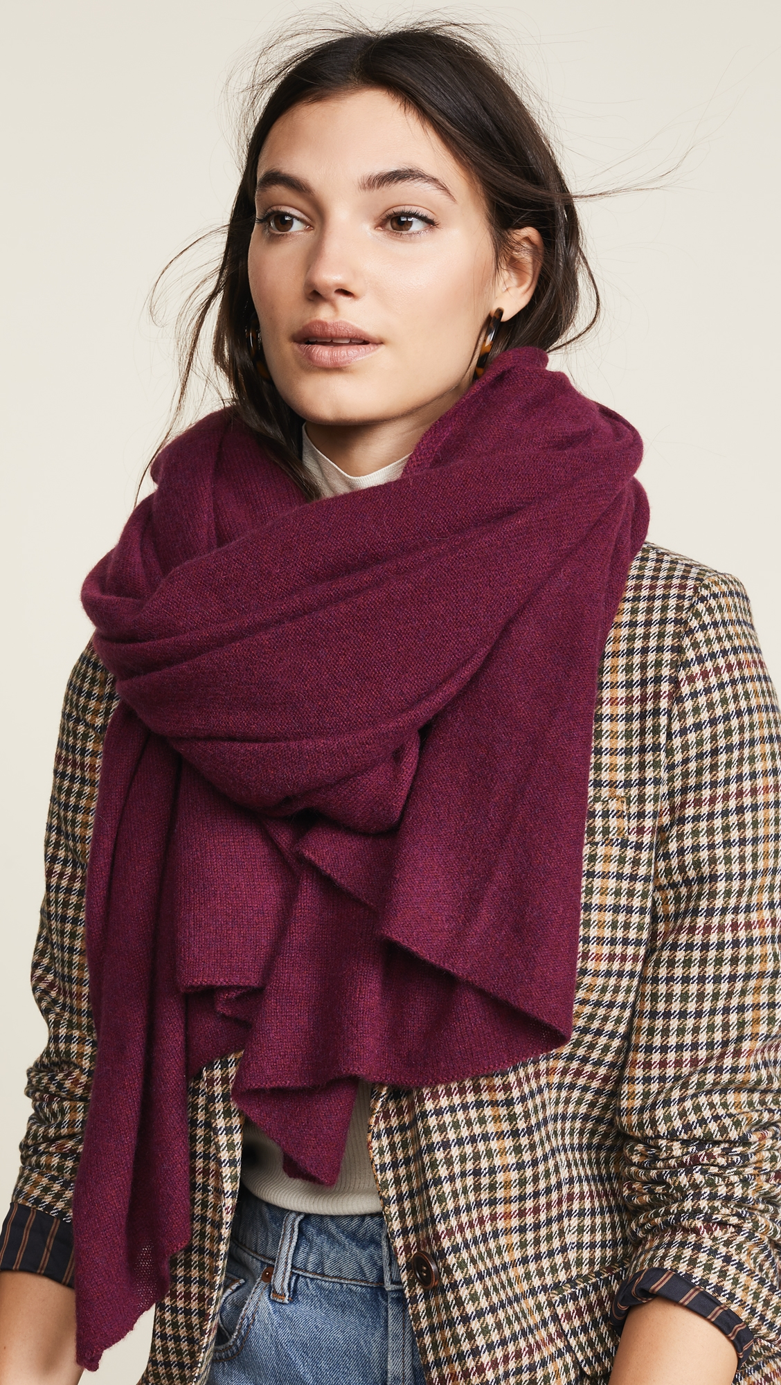 688f5e35 Cashmere Travel Wrap Scarf in 2019 | Products | Cashmere wrap ...