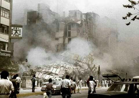 Av, Juárez Hotel Regis terremoto 1985