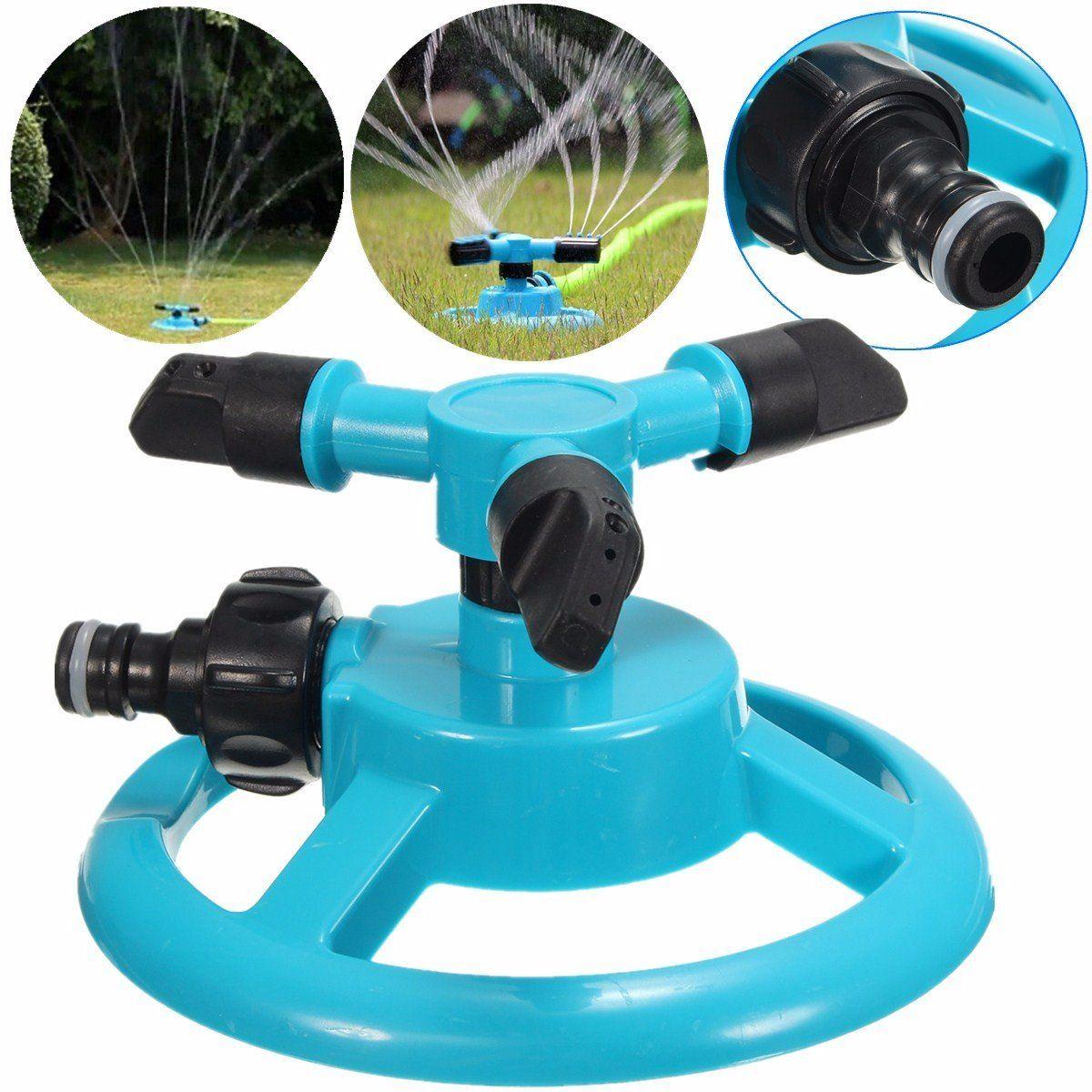 how to adjust sprinkler heads rotation