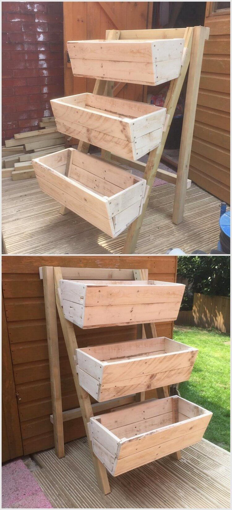 Recycling Ideas With Old Shipping Pallets Wood