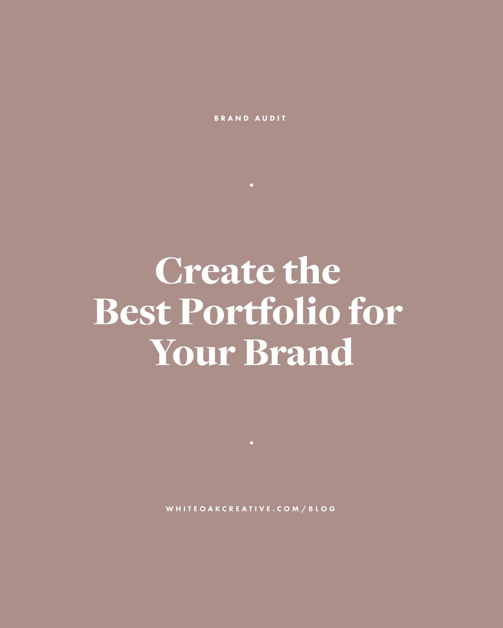 Portfolio Best Practices For Content Creators