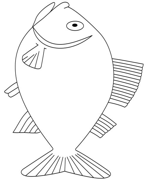 malvorlage fisch sardine