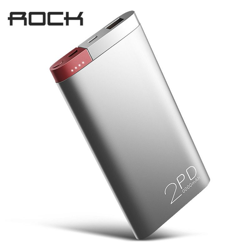 newest dc224 62d29 ROCK Power Bank 20000mAh PD QC3.0 2.0 Quick Charge Powerbank ...