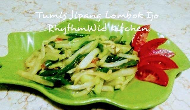 Resep Oseng Jipang Lombok Ijo Oleh Rhymerwid Kitchen Resep Di 2020 Memasak Tumis Resep