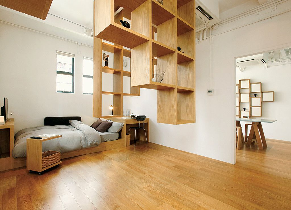 case02 in hongkong compact life muji wohnung m bel innenarchitektur und raumgestaltung. Black Bedroom Furniture Sets. Home Design Ideas