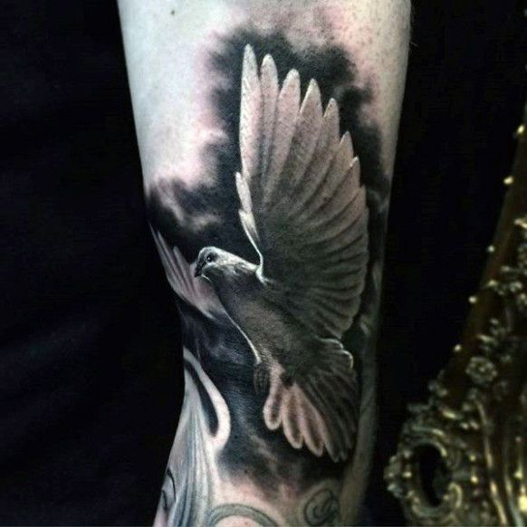 Here's What People Are Saying About Dove Tattoo Black And White | dove tattoo black and white