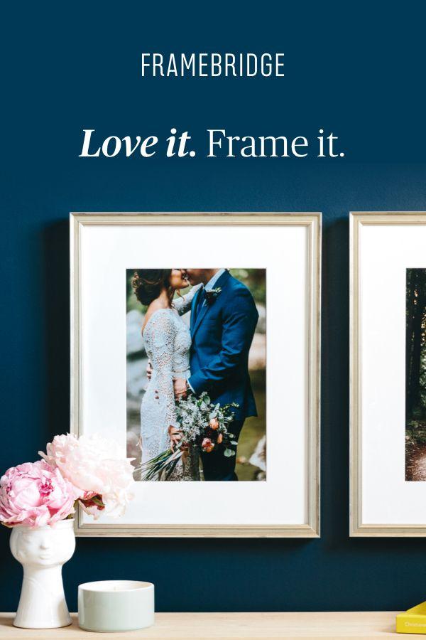1: Upload a photo. 2: Choose the perfect frame. 3: Enjoy! Custom ...