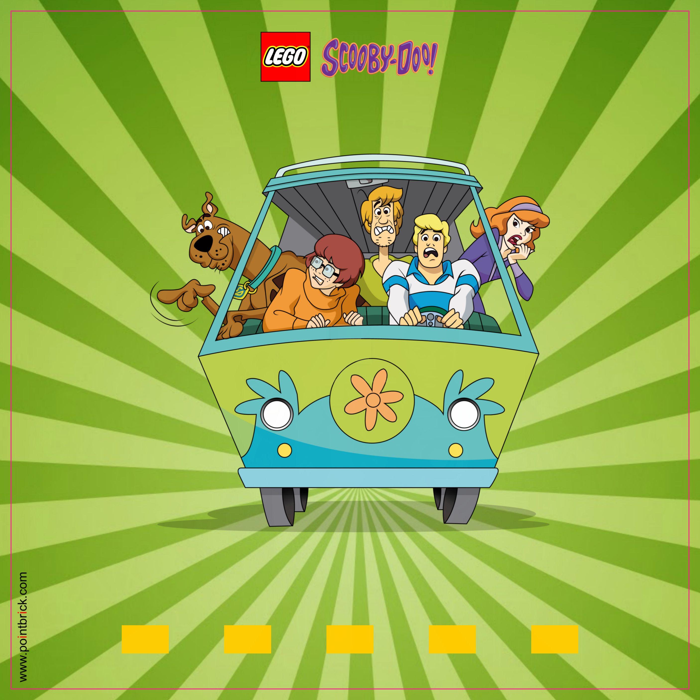 LEGO Minifigures Display Frame: Sfondi Scooby Doo | Pinterest