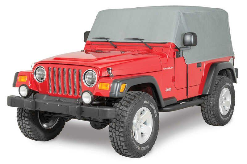 Rampage Products 1261 Rmp 4 Layer Cab Cover For 92 06 Jeep Wrangler Yj Tj Jeep Jeep Wrangler Yj Jeep Wrangler