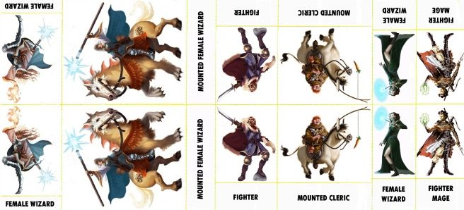 Striking image with d&d 5e monster tokens printable
