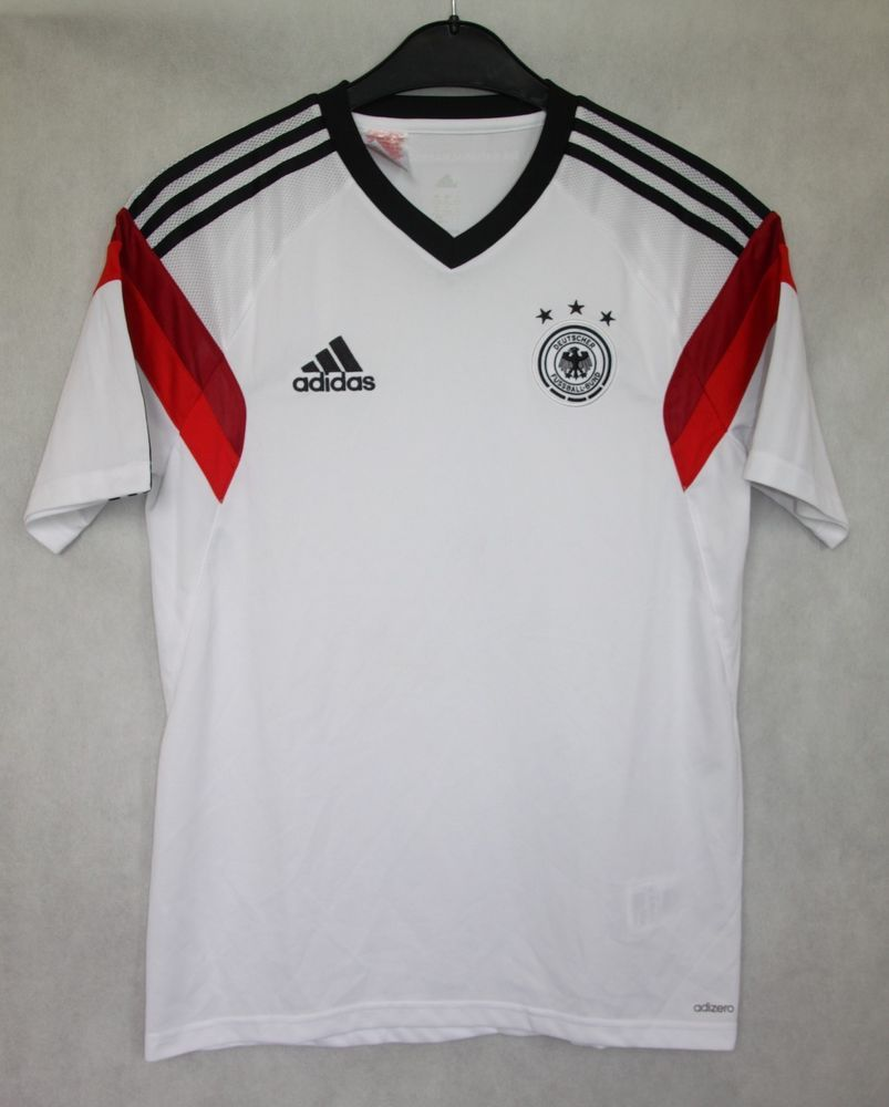 14f665163 ADIDAS GERMANY NATIONAL TEAM 2013   2014 HOME SHIRT JERSEY 15-16 YRS    176CM  adidas