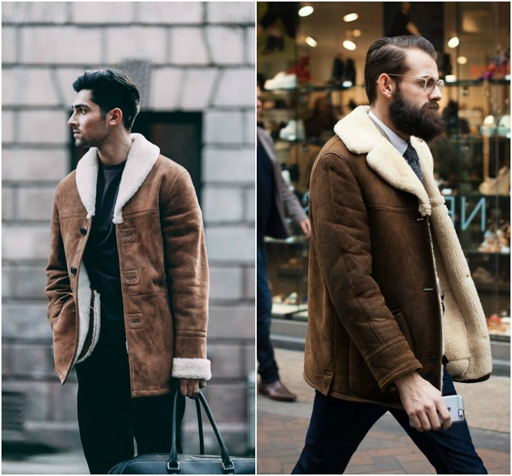 Sheepskin Jacket Men - My Jacket