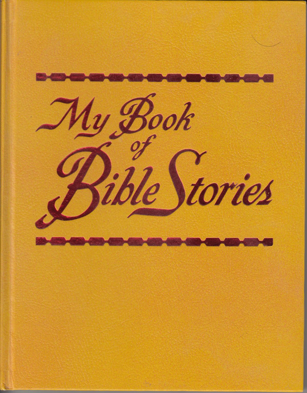 My Book Of Bible Stories Vintage 1978 Hc Watchtower Jehovahs Witness