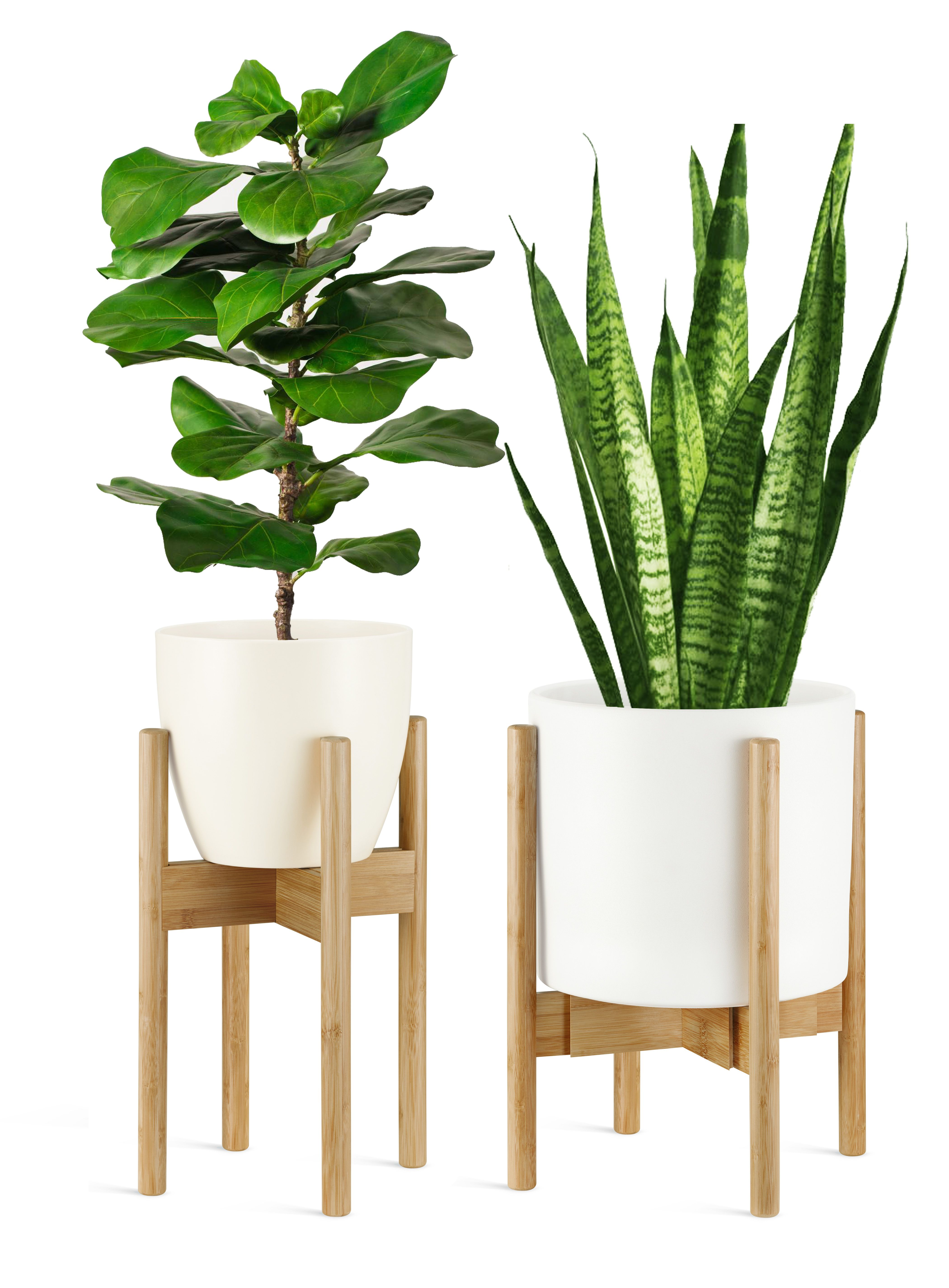 Plant Stand Adjustable 8 12inch Idoor Swedish Modern Style 29 95 Usd Bamboo Plants Plant Stand Plant Stand Indoor