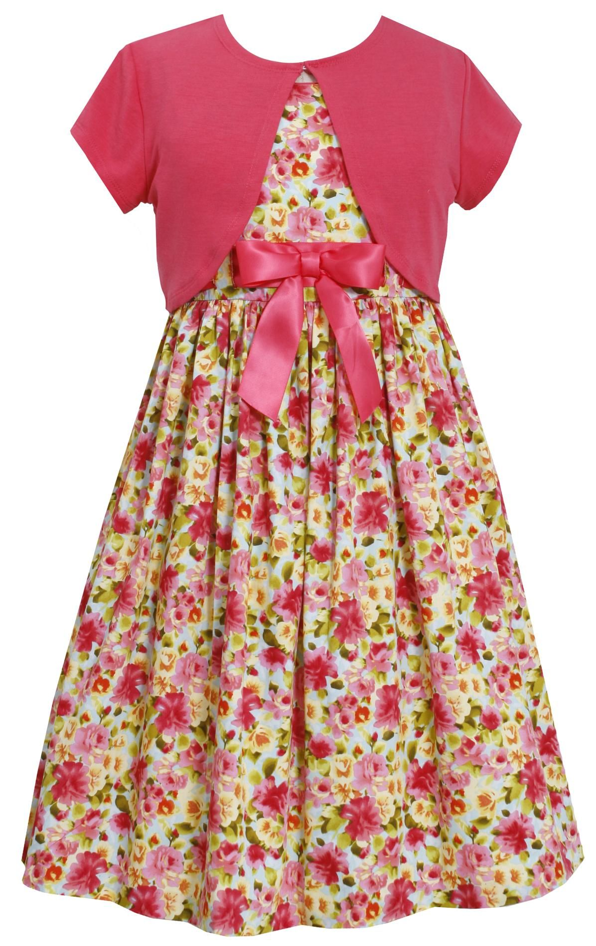 2bd819b2ec98 Ashley Ann Girl's Dress & Short-Sleeve Shrug - Floral - Kids - Kids'  Clothing - Girls' Clothing - Girls' Dresses SEARS ---Very Hobbit like!