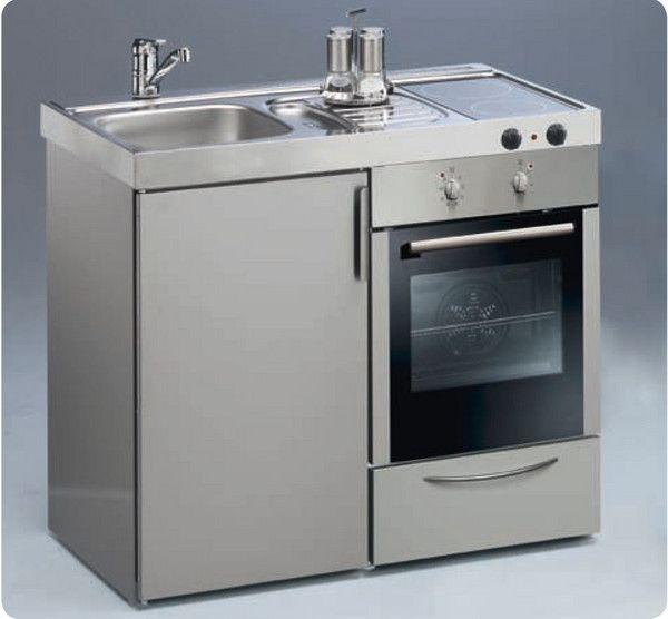 Mini cocinas compactas para pequeños espacios - Cocinas con estilo ...